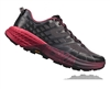 Womens Hoka SPEEDGOAT 2 Trail Running Shoes - Black / Azalea