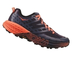 Womens Hoka SPEEDGOAT 2 Trail Running Shoes - Marlin / Blue Ribbon
