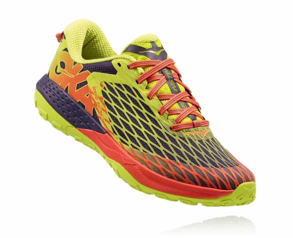 e03b5825bc73e Men s Hoka SPEED INSTINCT Trail Running Shoes - Nightshade   Acid ...