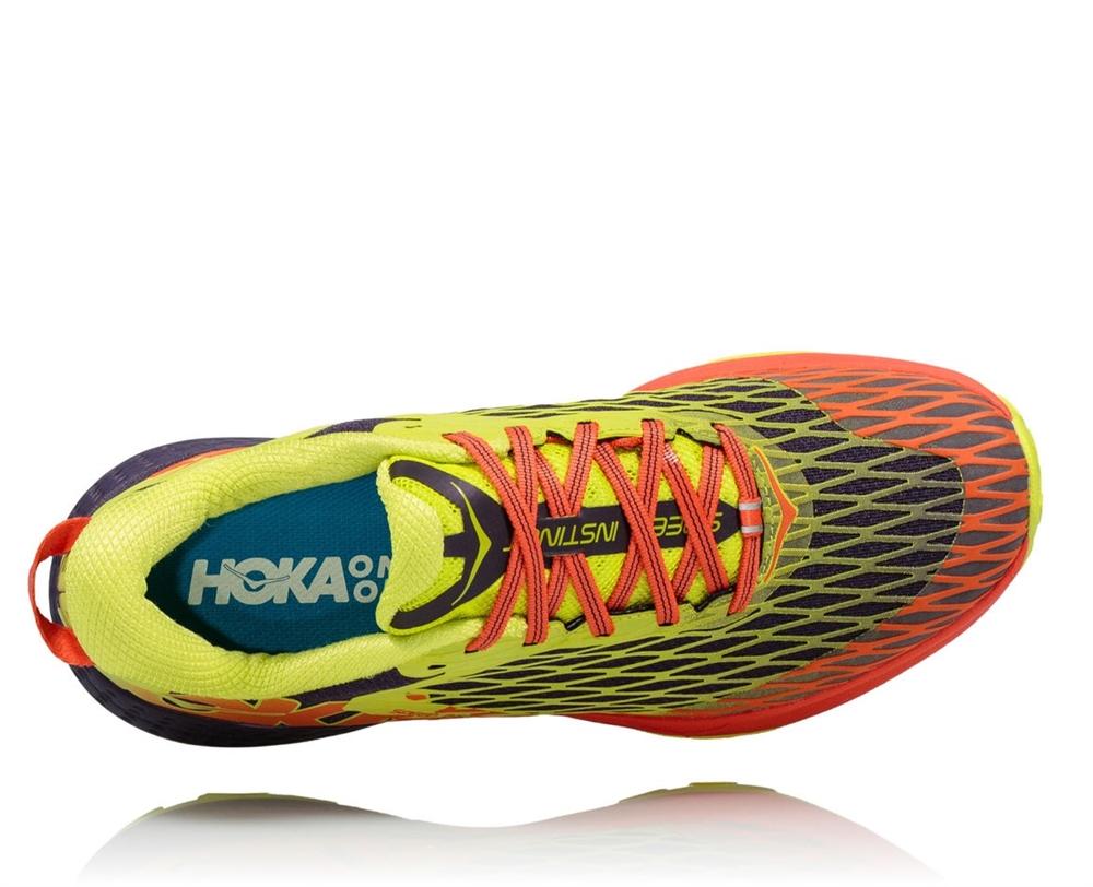 Hoka Shoes: SPEED INSTINCT - Nightshade / Acid