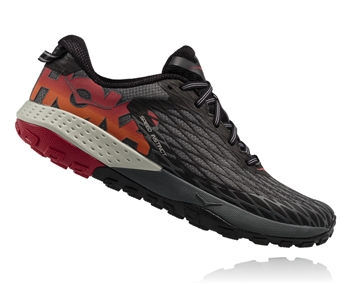 Mens Hoka SPEED INSTINCT Trail Running Shoes - Formula One / Black
