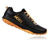 Mens Hoka SPEED INSTINCT 2 Trail Running Shoes - Black / Kumquat