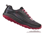 Womens Hoka SPEED INSTINCT 2 Trail Running Shoes - Black / Azalea