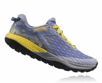 Womens Hoka SPEED INSTINCT Trail Running Shoes - Ultramarine / Aurora