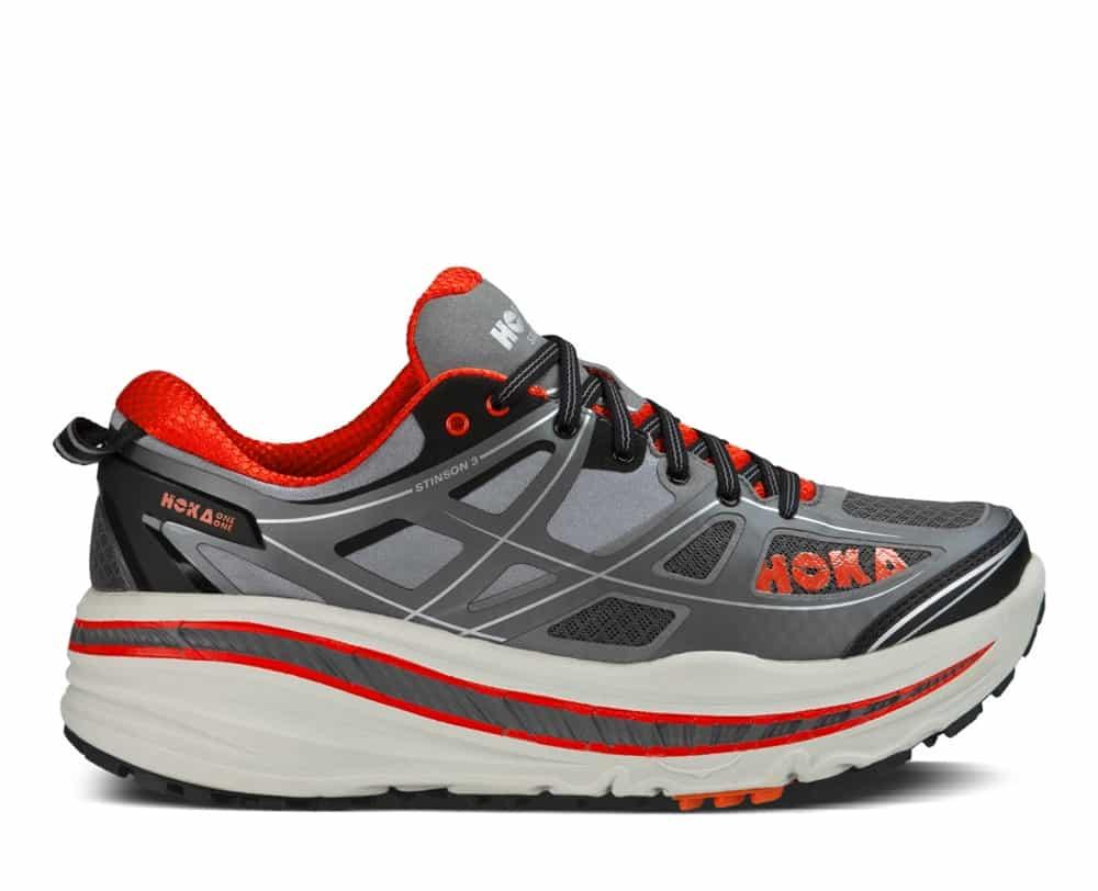 ... Running Shoes - Grey / Orange Flash HOKA STINSON 3 ATR ( MEN ) View  Larger Photo Email ...