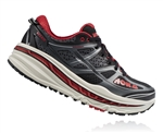 Mens Hoka STINSON 3 ATR Trail Running Shoes - Anthracite / Formula One