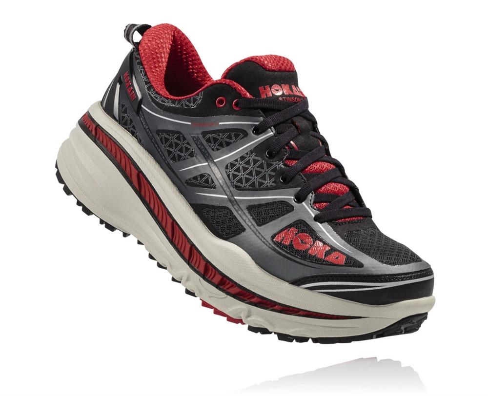 Hoka Shoes: Stinson 3 ATR - Anthracite / Formula One