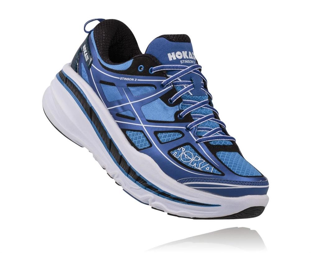 Hoka Shoes: Stinson 3 Lite - True Blue ...