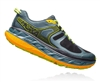 Mens Hoka One One STINSON ATR 5 Trail Running Shoes - Mallard Green / Gold Fusion