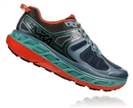 Mens Hoka One One STINSON ATR 5 Trail Running Shoes - Stormy Weather / Forest Night