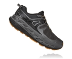 Mens Hoka One One STINSON ATR 5 Trail Running Shoes - Anthracite / Dark Gull Grey