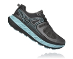 Womens Hoka One One STINSON ATR 5 Trail Running Shoes - Anthracite / Antigua Sand