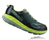 Mens Hoka STINSON ATR 4 Trail Running Shoes - Blue Atoll / Blazing Yellow