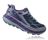 Womens Hoka STINSON ATR 4 Trail Running Shoes - Tradewinds / Vintage Indigo