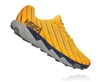 Mens Hoka One One TORRENT trail running shoes - Gold Fusion / Black Iris