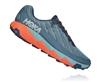 Mens Hoka One One TORRENT trail running shoes - Gold Fusion / Dresden Blue