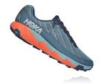 Mens Hoka One One TORRENT trail running shoes - Moonlit Ocean / Lead