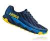 Mens Hoka One One TORRENT trail running shoes - Ebony / Black