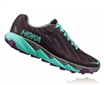 Womens Hoka One One TORRENT trail running shoes - Nine Iron / Steel Gray