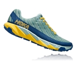 Womens Hoka One One TORRENT trail running shoes - Lichen / Seaport