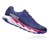 Womens Hoka One One TORRENT trail running shoes - Sodalite Blue / Very Berry