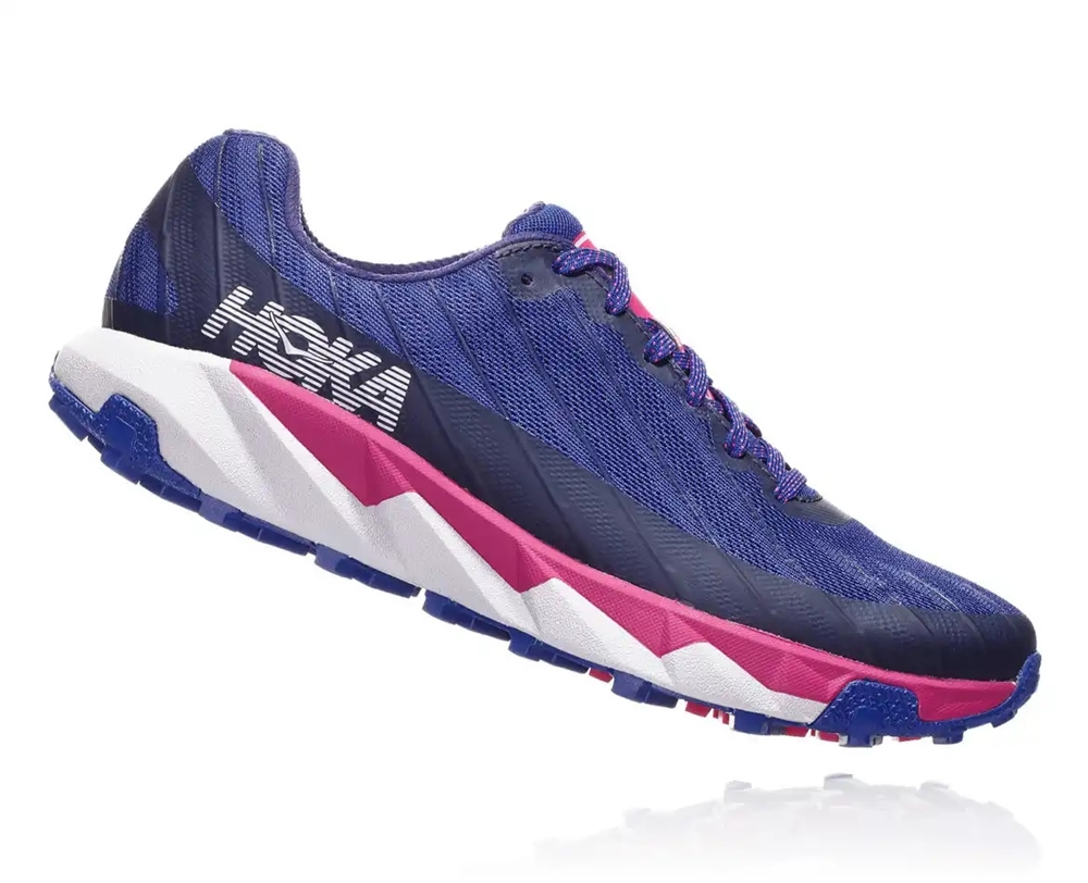 Womens Hoka One One TORRENT trail running shoes - Sodalite Blue   Very Berry a96ae0b3d86