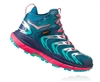 Womens Hoka TOR SPEED 2 WP Mountain Running Shoes - Blue Coral / Peacoat
