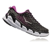 Womens Hoka VANQUISH 2 Road Running Shoes - Black / Fuchsia