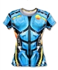Womens INKnBURN XC BIODROID Tech Running Shirt
