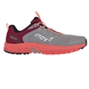 Womens Inov-8 PARKCLAW 275 Trail Running Shoes - Grey / Coral