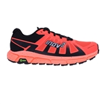 Womens Inov-8 TERRAULTRA G 270 Trail Running Shoes - Coral / Black