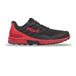 Mens Inov-8 TRAILTALON 290 Trail Running Shoes - Black / Red