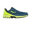 Mens Inov-8 TRAILTALON 290 Trail Running Shoes - Blue Green / Yellow