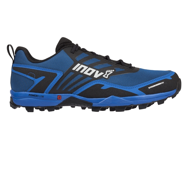Mens Inov-8 X-TALON ULTRA 260 Mountain Trail Running Shoes - Blue / Black
