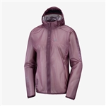 Womens Salomon LIGHTNING RACE WP Waterproof Running Jacket