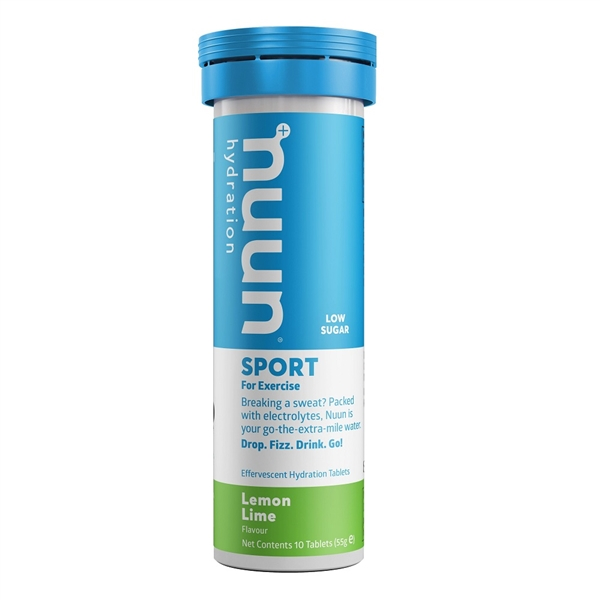 Nuun Sport Lemon Lime Electrolyte Tablets (1 tube)