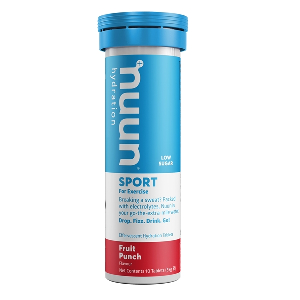 Nuun Sport Fruit Punch Electrolyte Tablets (1 tube)