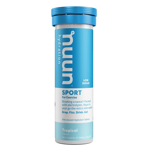 Nuun Sport Tropical Electrolyte Tablets (1 tube)