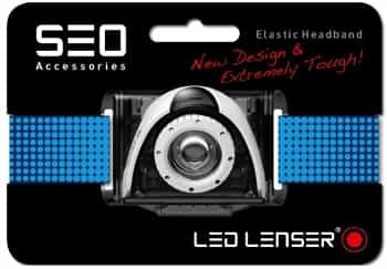 Blue Headband for LED Lenser SEO Running Headlamps/Head Torches
