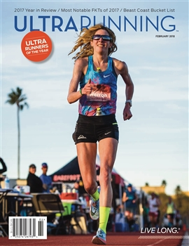 UltraRunning Magazine : February 2018