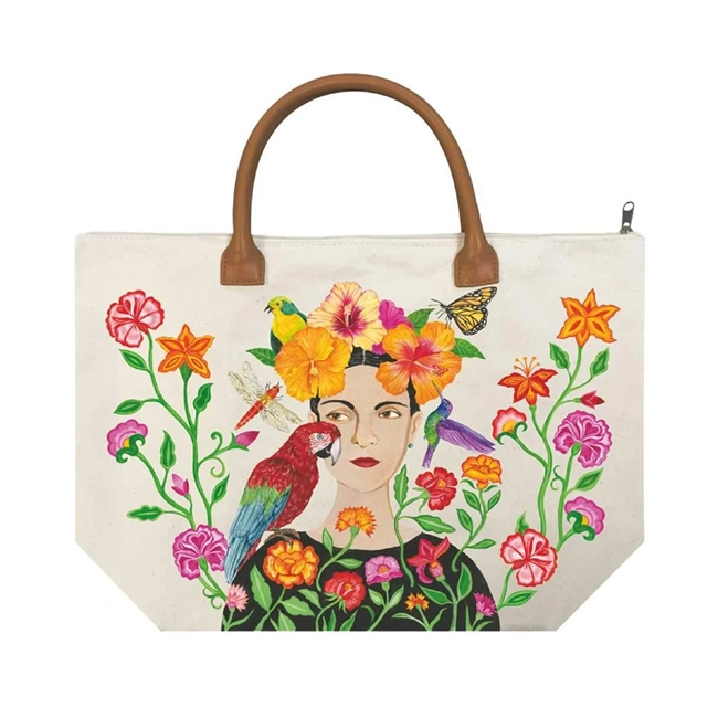 La Dolorosa Canvas Tote Bag