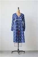 Cotton Lily Cambric Woven Print Dress