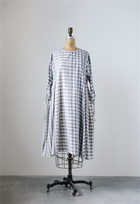 Cotton Gingham Madie Dress
