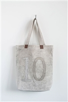Cotton Canvas Tote Bag with Handles