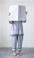 Cotton Pajamas, Grey & White