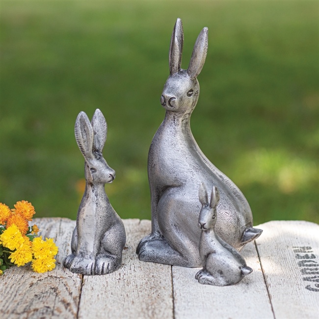 Spring Cottontails: Set of 3