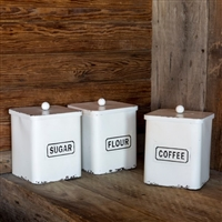 Provision Canisters: Set of 3