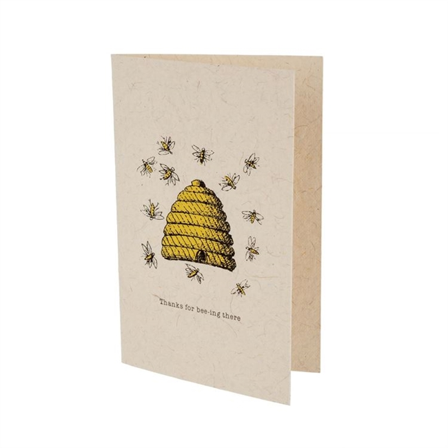 Bee-ing There Cards: Set of 4