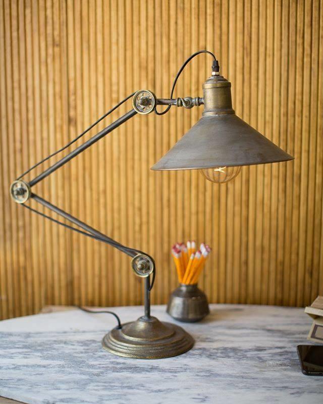 Metal Drafting Table Lamp