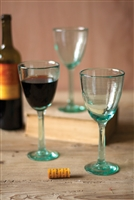 Recycled Wine Glass: Set of 6